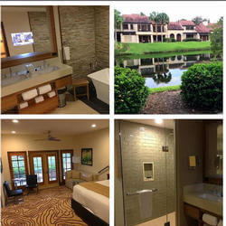 Guest Rooms at The Villas Grand Cypress in Orlando