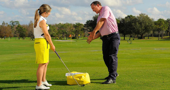 One-on-one training at The Villas Grand Cypress in Orlando Florida