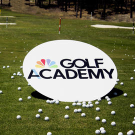golf academy sign