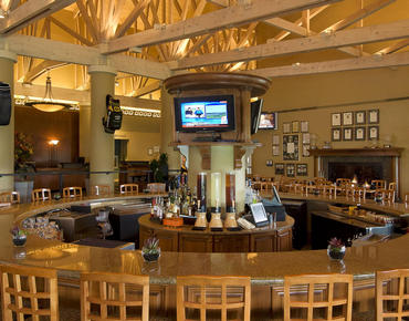 The Club Bar at Villas Of Grand Cypress in Orlando Florida