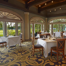 Private Dinners at Nine18 at Villas Grand Cypress in Orlando