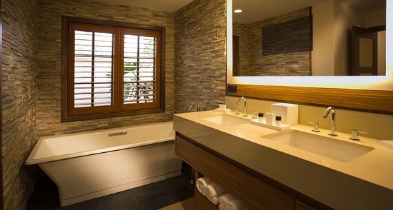 Luxury Orlando villa bathroom