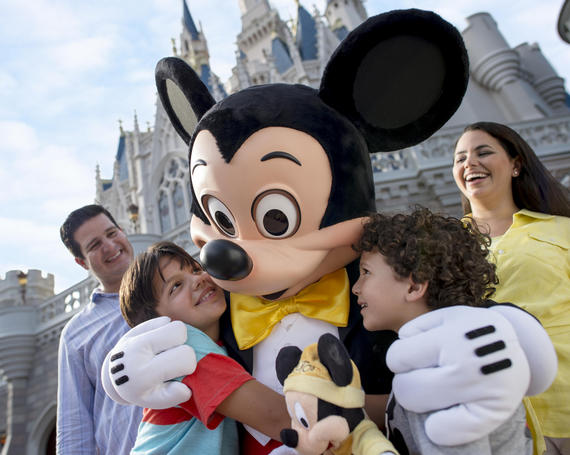 family meeting Mickey Mouse