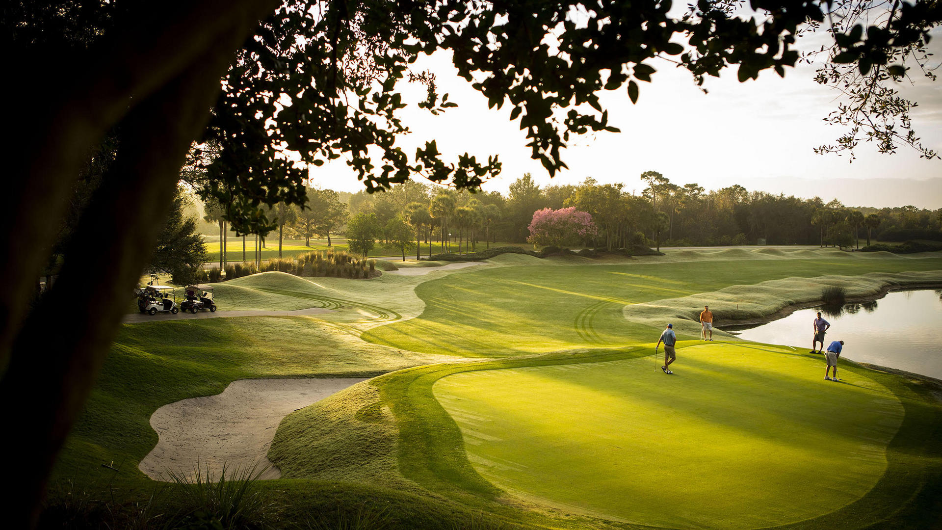 Golf Course at The Villas of Grand Cypress in Orlando, Florida