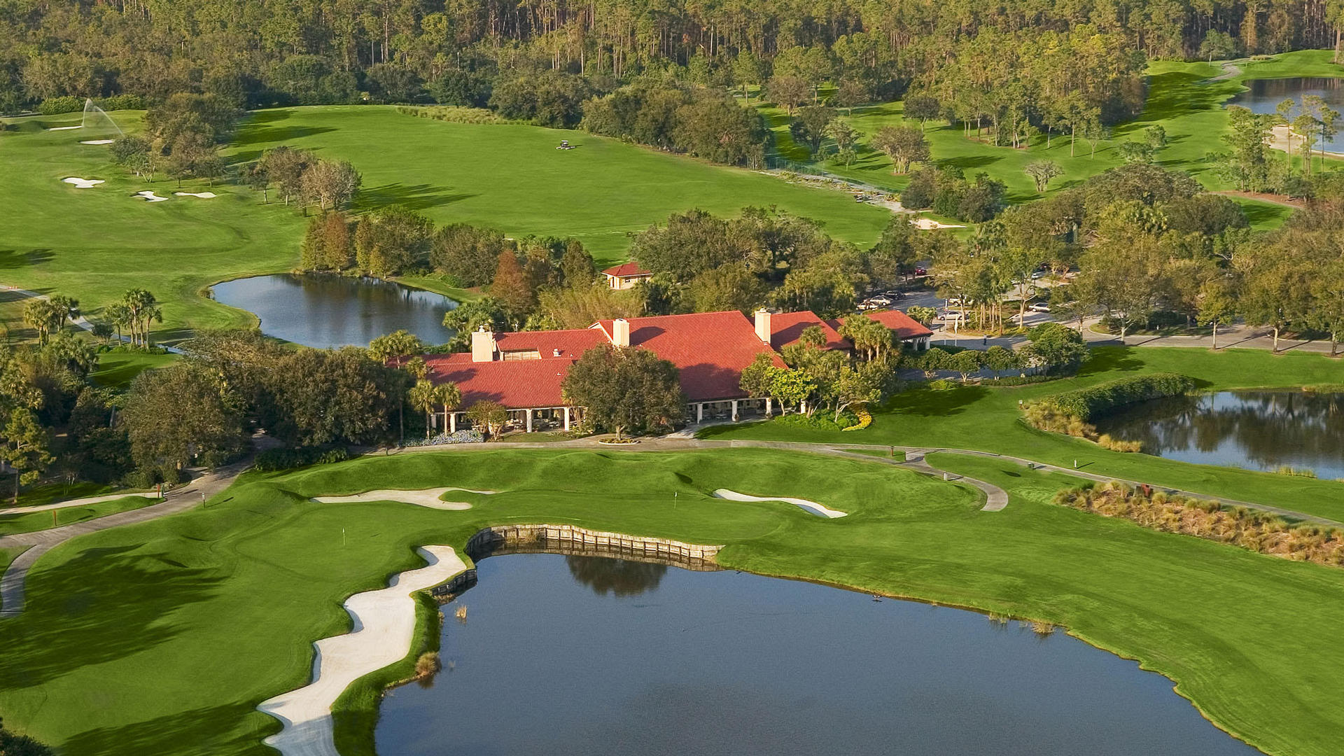 Aerial View Of The Villas of Grand Cypress Orlando, FL