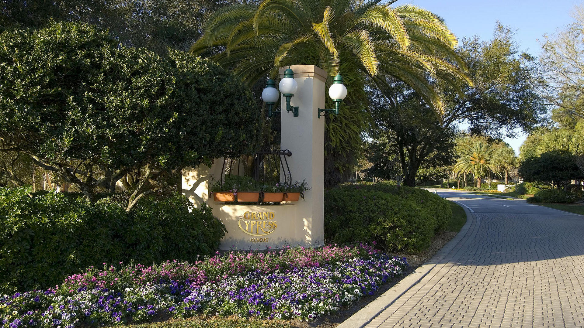 Entrance To Villas Of Grand Cypress Resort & Spa in Orlando