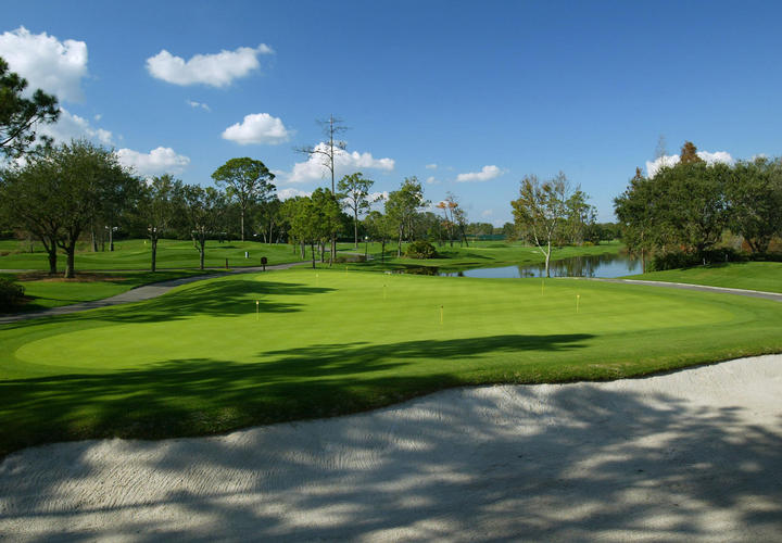 large practice putting green at grand cypress