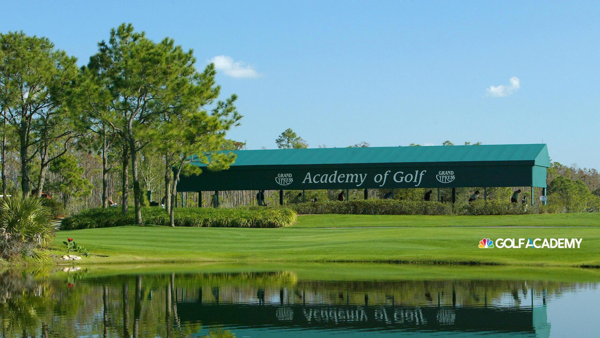 Villas of Grand Cypress Golf Academy sign in Orlando, FL