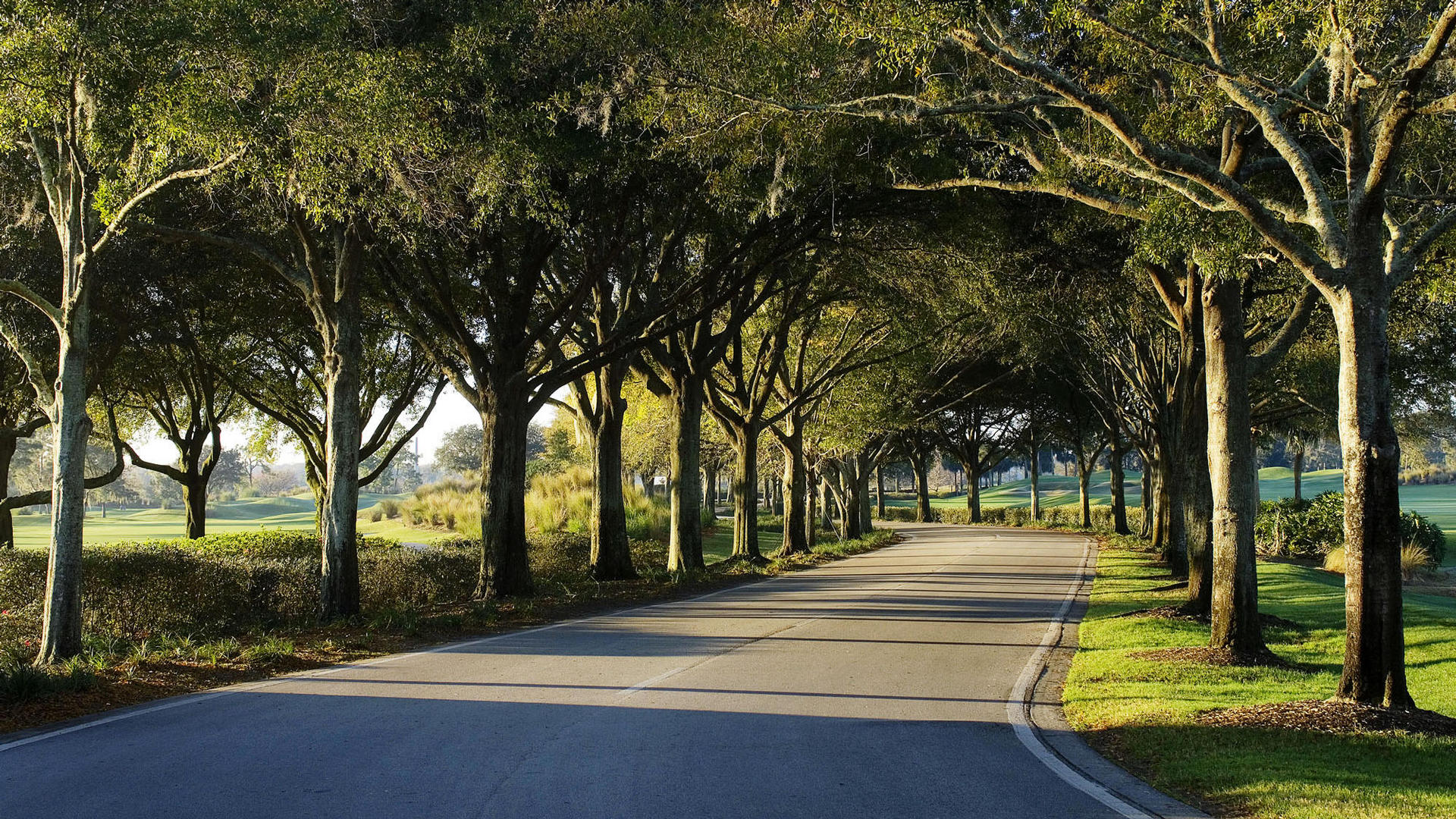 Entrance To The Villas of Grand Cypress Golf Resort in Orlando, Florida