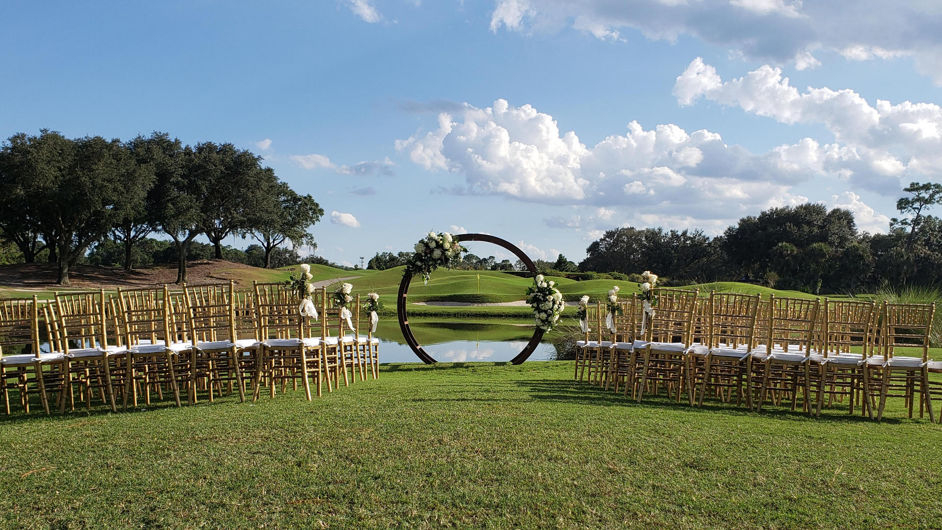 Orlando wedding packages form The Villas
